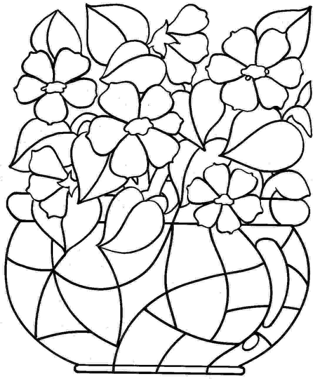 spring flowers coloring pages to print birds and flowers spring coloring page favecraftscom coloring print spring to pages flowers