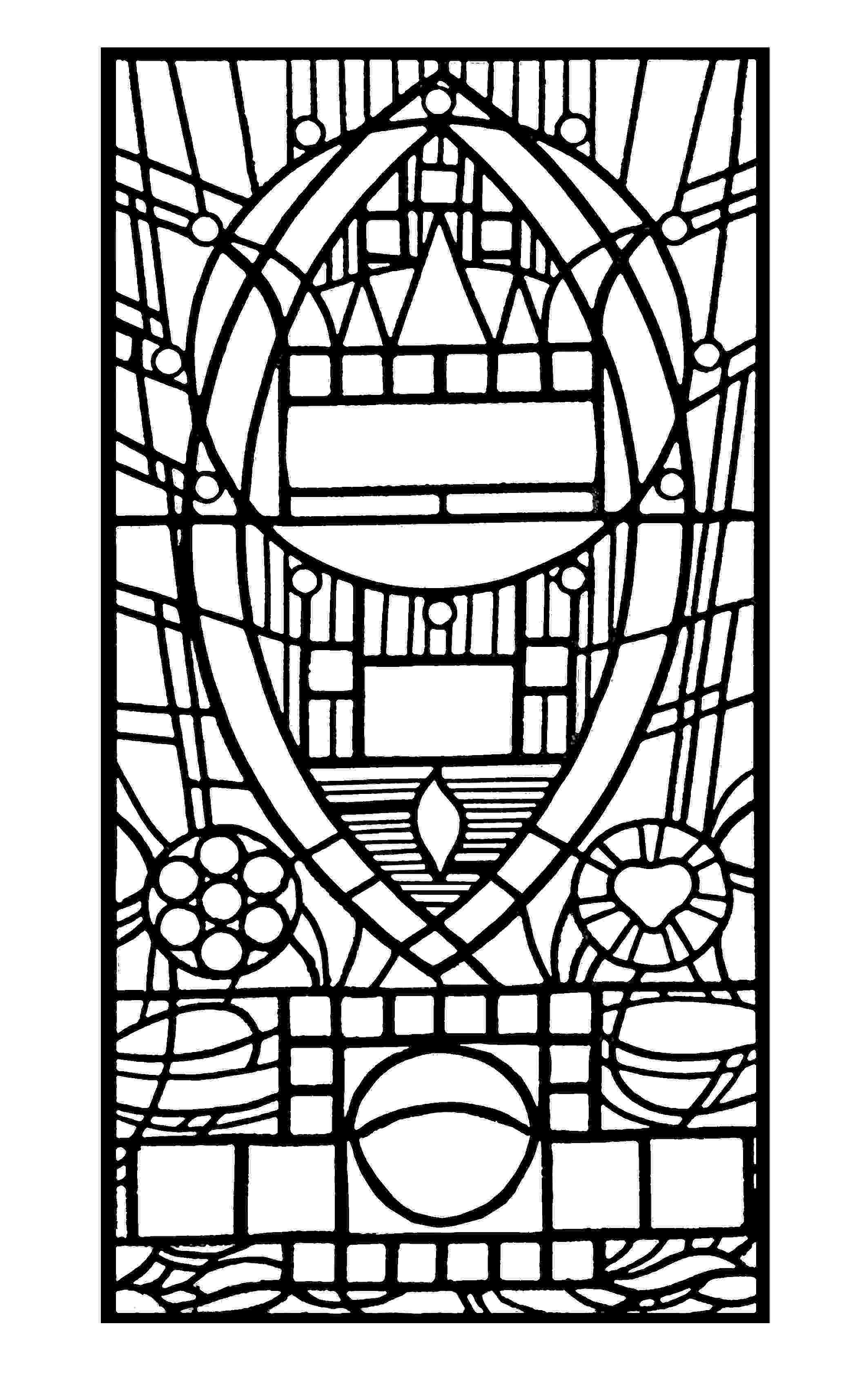 stained glass pictures to color 1000 images about coloriage medieval chateaux villes color to glass pictures stained
