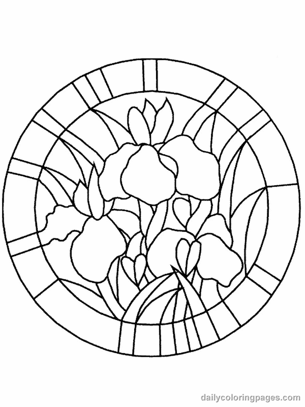 stained glass pictures to color simple stained glass coloring pages coloring home pictures glass color stained to