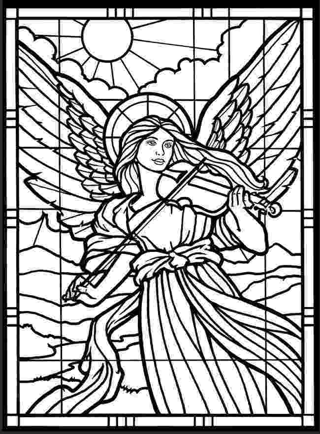 stained glass pictures to color stained glass window coloring pages download and print for glass stained pictures color to