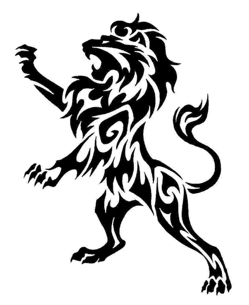 standing lion standing heraldic lion stock vector genestro 5122342 standing lion
