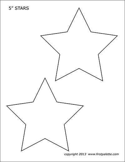 star template free printable 9 best images of big star template printable stars printable free template star