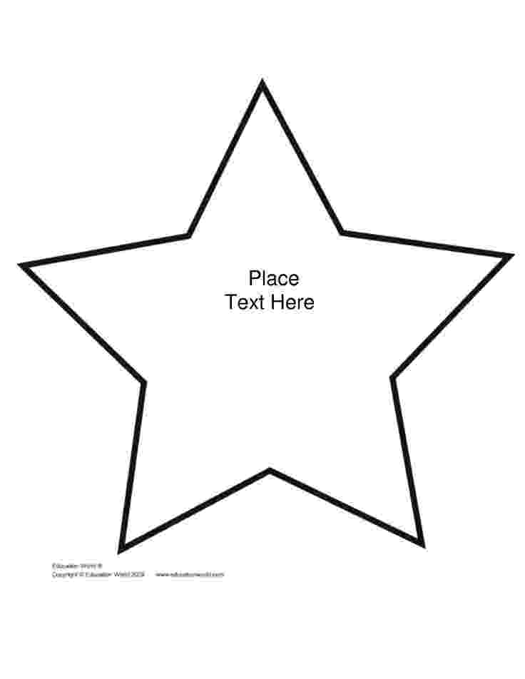 star template free printable large star template printable clipartsco free template star printable