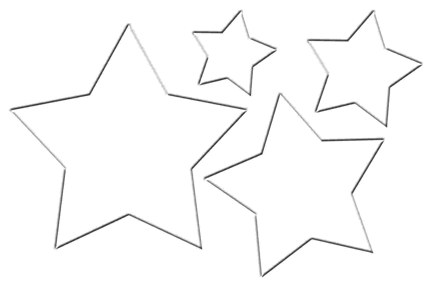 star template free printable make your own paper christmas ornaments with these fun free template printable star