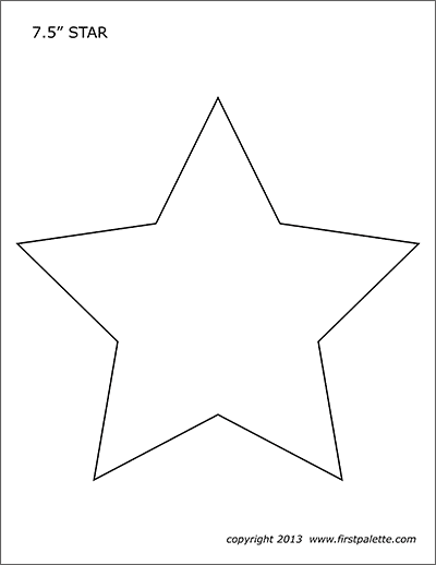 star template free printable star template stained glass clipart best clipart printable template star free