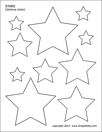 star template free printable stars free printable templates coloring pages star printable free template