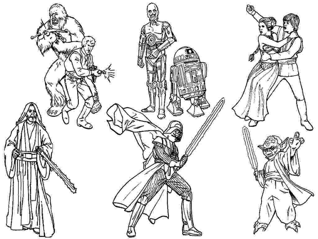 star wars characters coloring pages star wars characters coloring pages gallery free coloring characters pages wars star