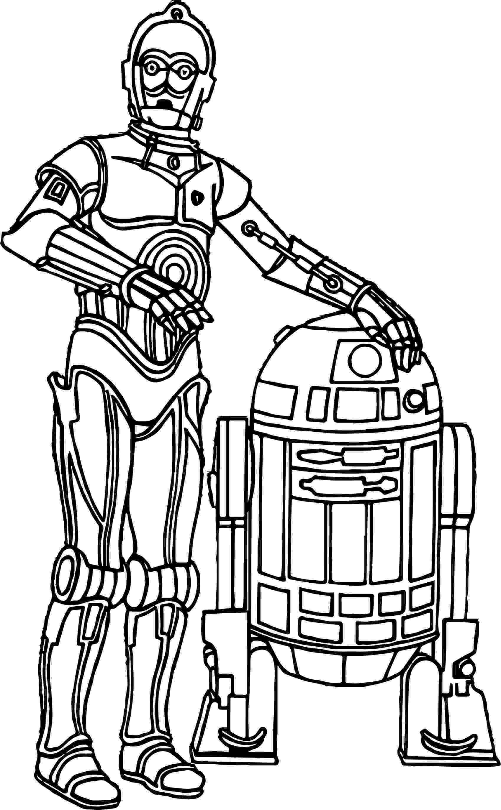 star wars characters coloring pages to print coloriage star wars c6po c3po 2 click on the characters wars coloring star pages