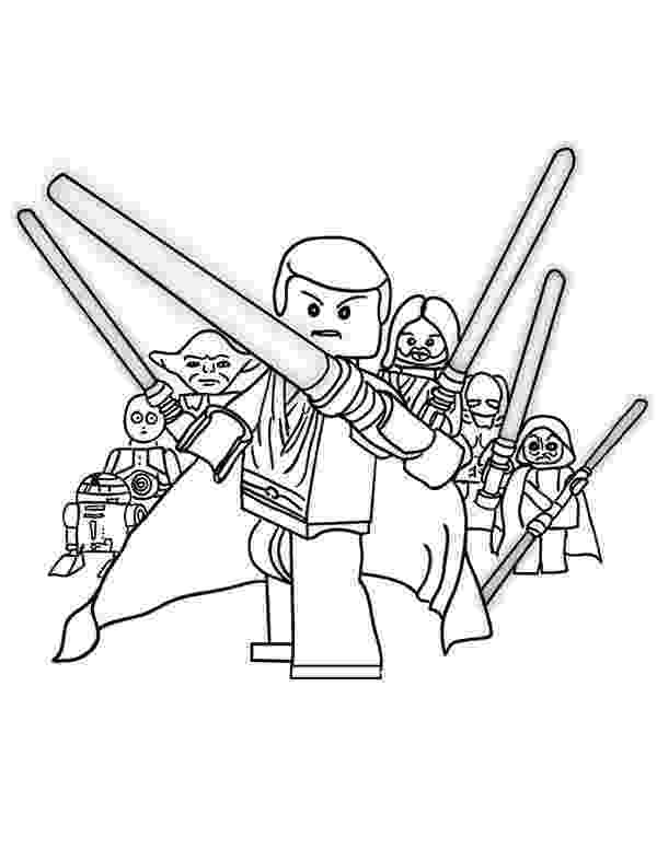 star wars coloring lego the star wars characters lego coloring page download star wars lego coloring