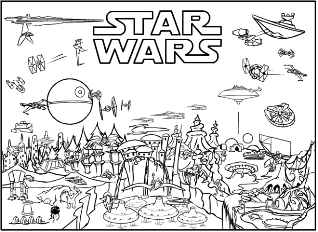 star wars print out coloring pages star wars free printable coloring pages for adults kids out star wars pages coloring print