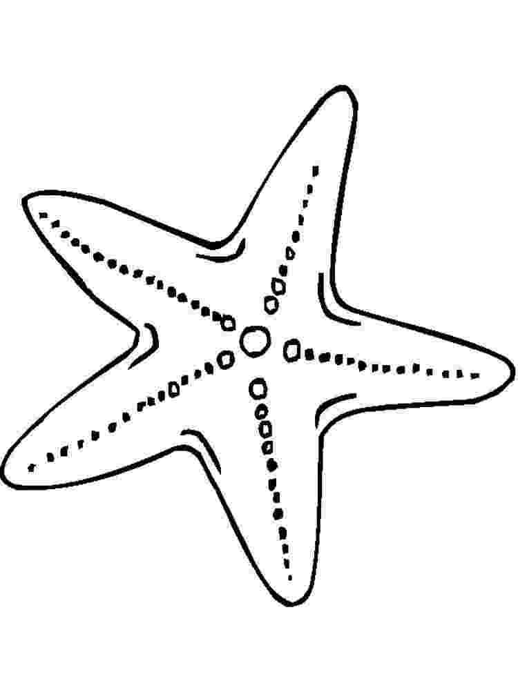 starfish coloring pages printable starfish coloring pages for kids cool2bkids coloring starfish pages