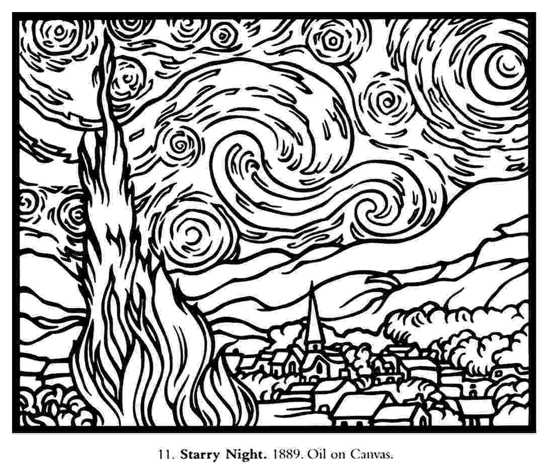 starry night coloring page starry night coloring page coloring home night coloring starry page