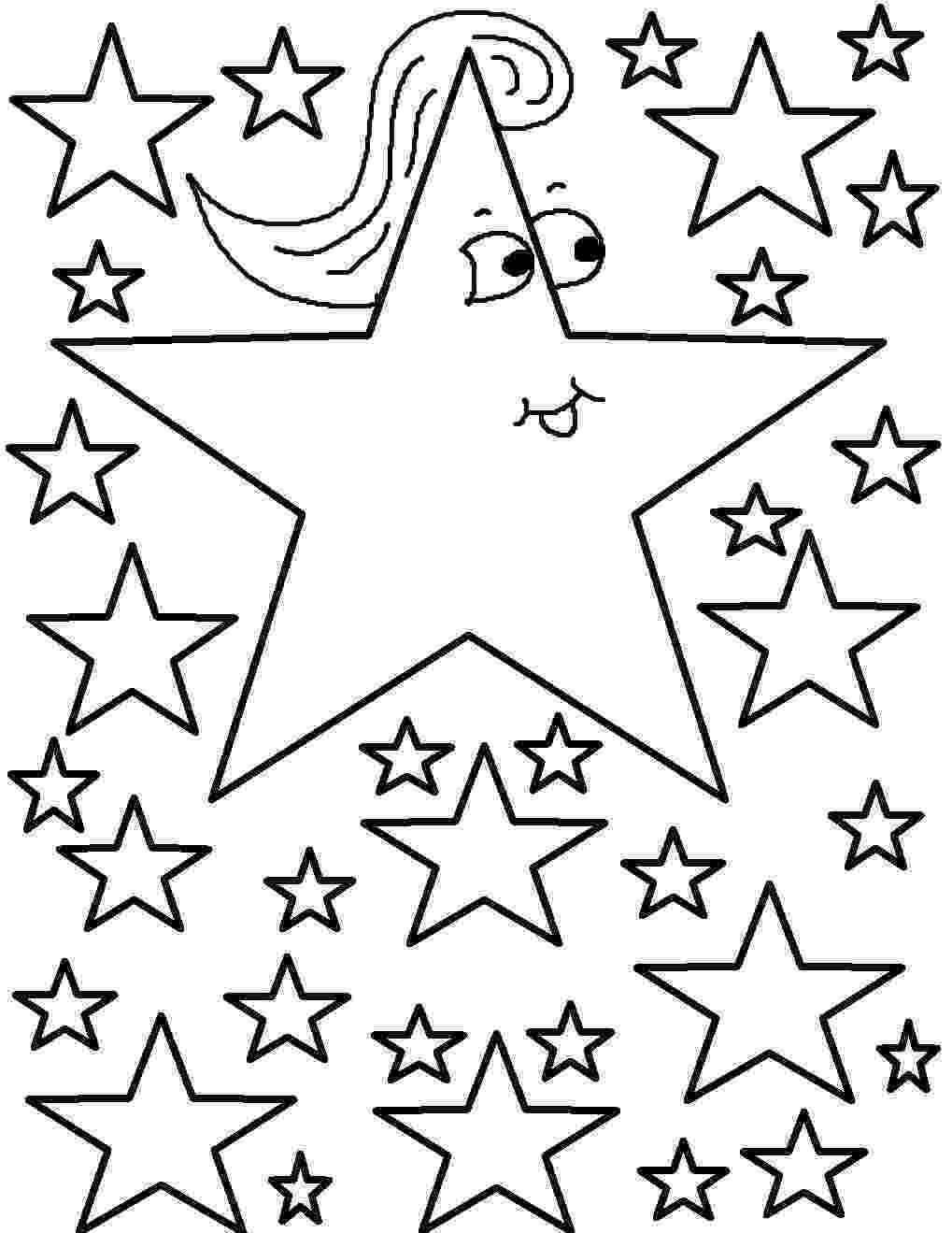 stars to colour and print christmas star coloring pages getcoloringpagescom print colour stars to and