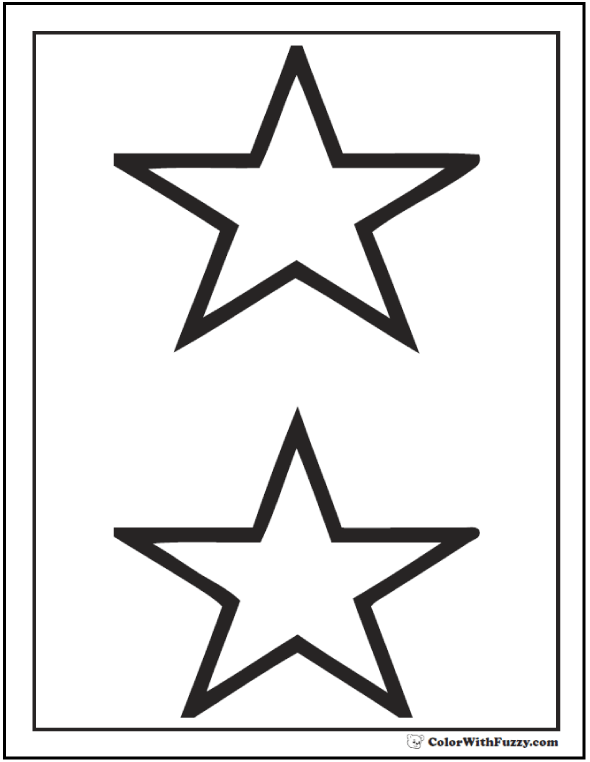 stars to colour and print free printable star coloring pages for kids cool2bkids colour to and print stars
