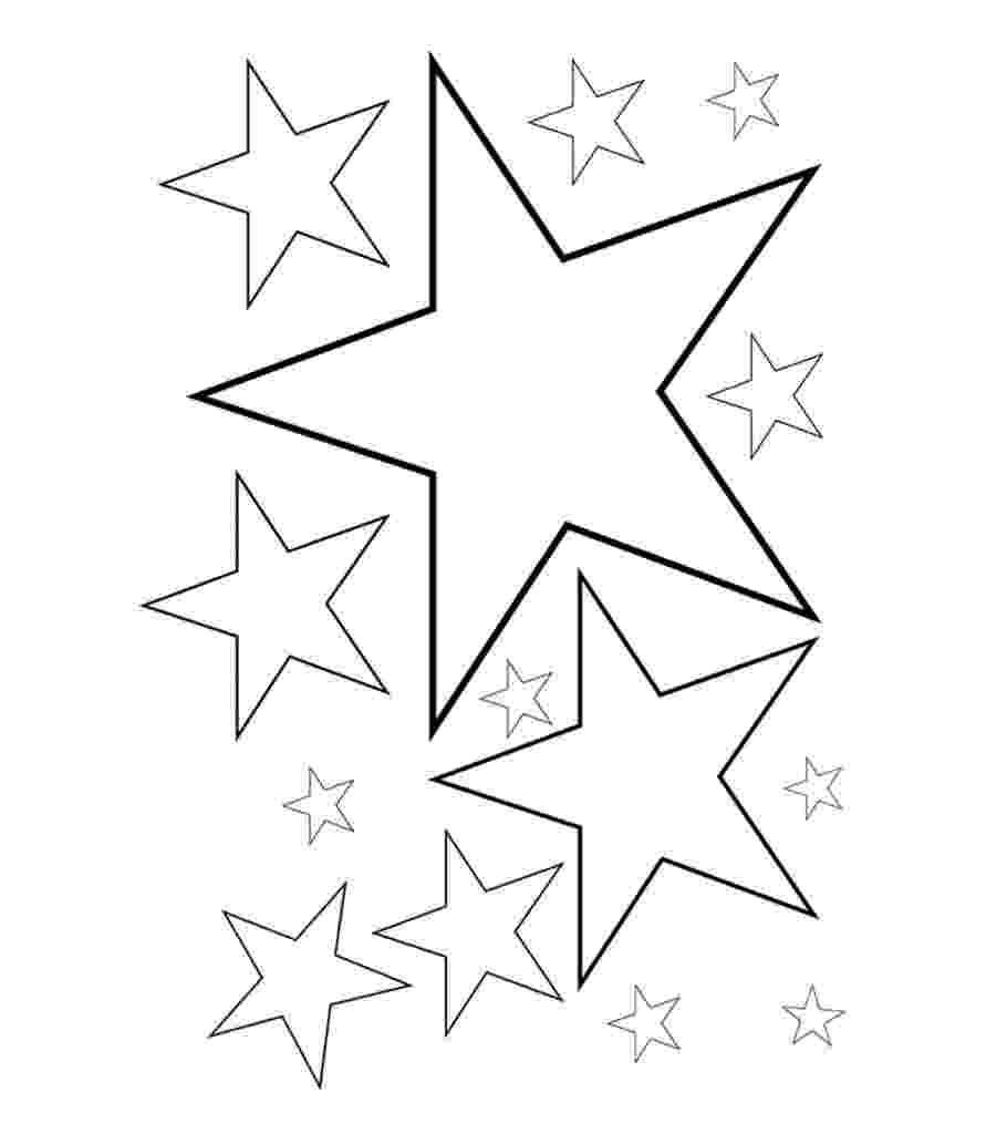 stars to colour and print free printable star coloring pages for kids to colour and print stars