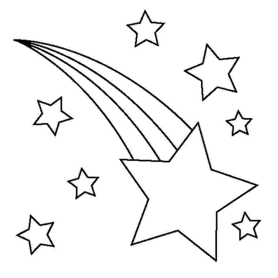 stars to colour and print printable graduation crafts trees triangles and colour stars print and to
