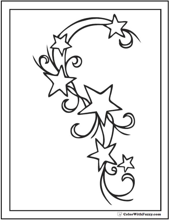 stars to colour and print stars free printable templates coloring pages colour stars to and print