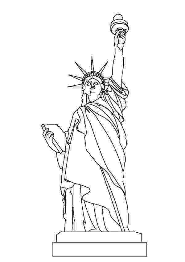 statue of liberty colouring pages coloring usa letmecolor of colouring liberty statue pages
