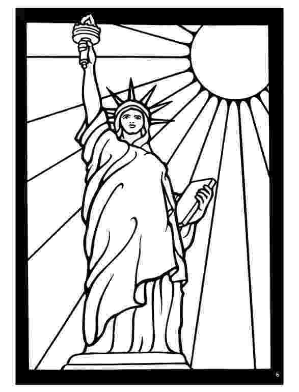 statue of liberty colouring pages free printable statue of liberty coloring pages for kids statue colouring liberty of pages