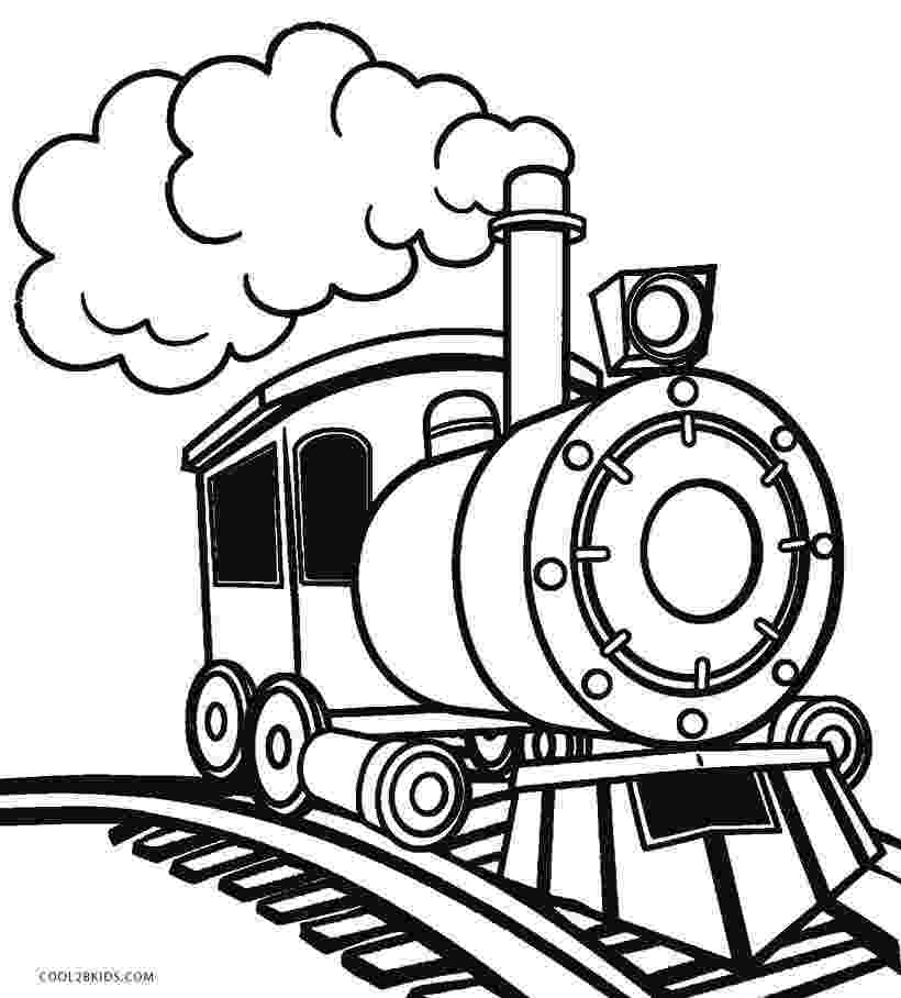 steam locomotive coloring pages railroad amazing steam train on railroad coloring page coloring pages locomotive steam