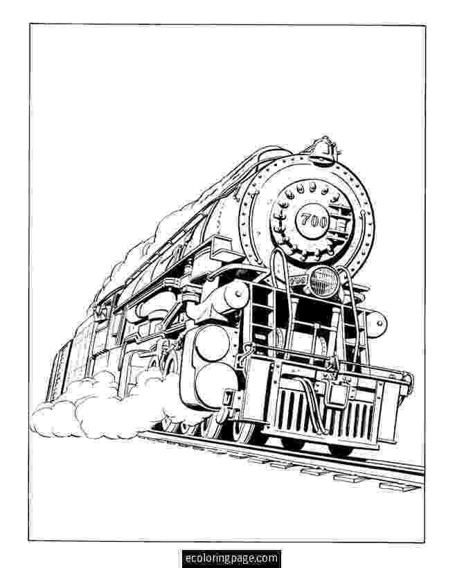 steam locomotive coloring pages steam locomotive drawing at getdrawings free download steam coloring locomotive pages