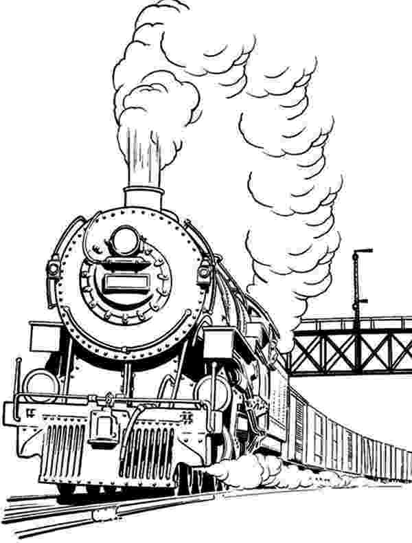 steam locomotive coloring pages steam train drawing at getdrawingscom free for personal locomotive steam pages coloring