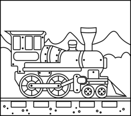 steam locomotive coloring pages train coloring page printables apps for kids steam locomotive coloring pages
