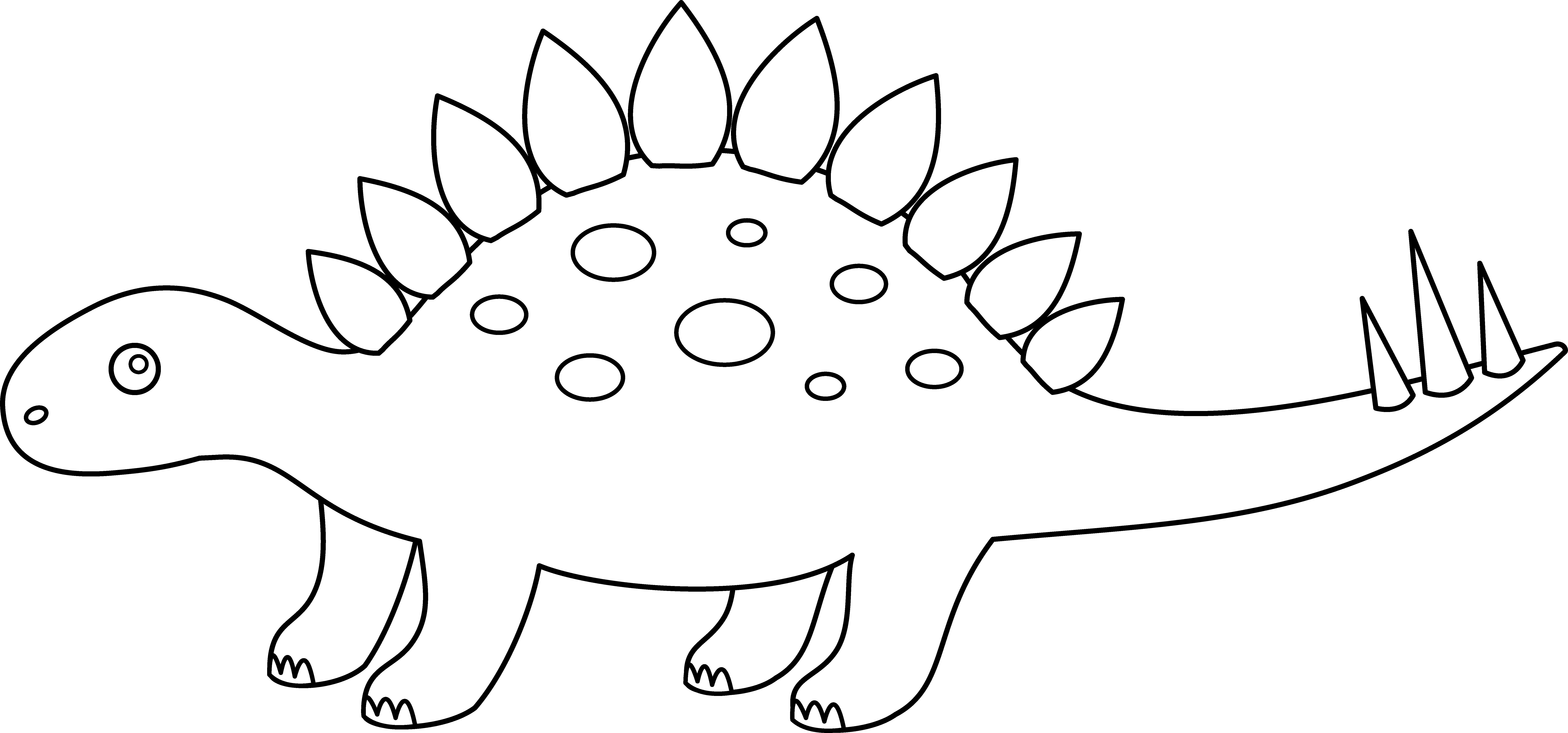 stegosaurus printable stegosaurus coloring page free printable coloring pages printable stegosaurus
