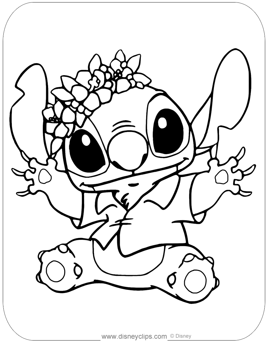 stitch coloring pictures lilo and stitch coloring pages disneyclipscom stitch pictures coloring
