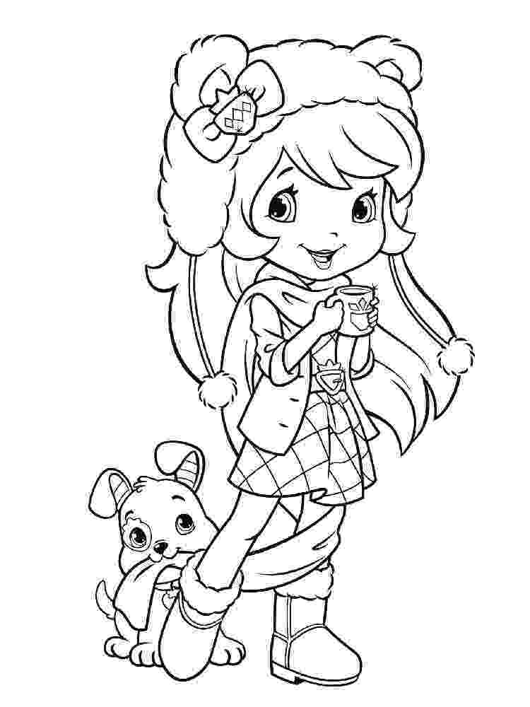 strawberry shortcake coloring pages free strawberry shortcake coloring pages kidsuki pages shortcake free strawberry coloring