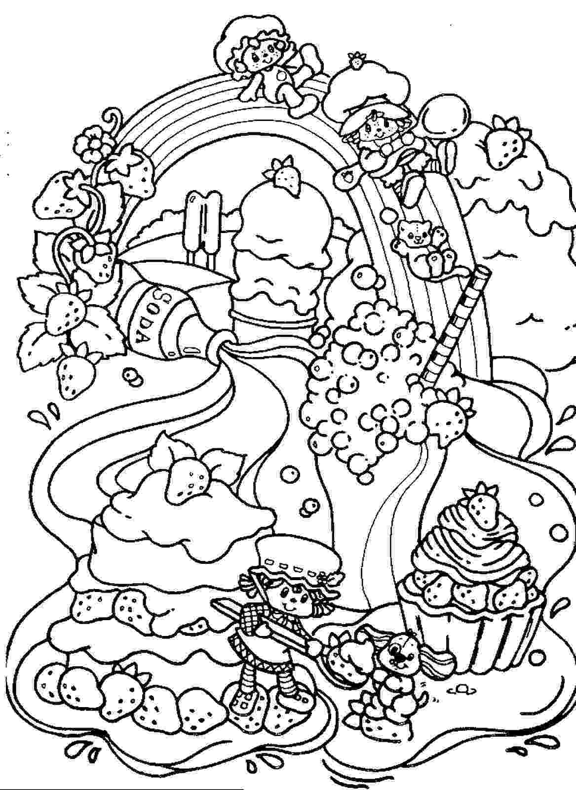 strawberry shortcake printable coloring pages strawberry shortcake coloring pages coloring pages strawberry printable shortcake pages coloring
