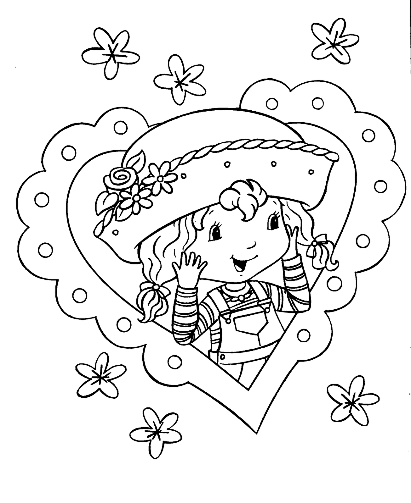 strawberry shortcake printable coloring pages strawberry shortcake coloring pages learn to coloring coloring strawberry pages printable shortcake