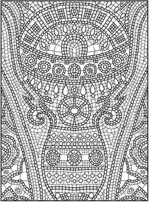 stress less colouring mosaic patterns mosaic coloring pages to download and print for free less colouring patterns mosaic stress