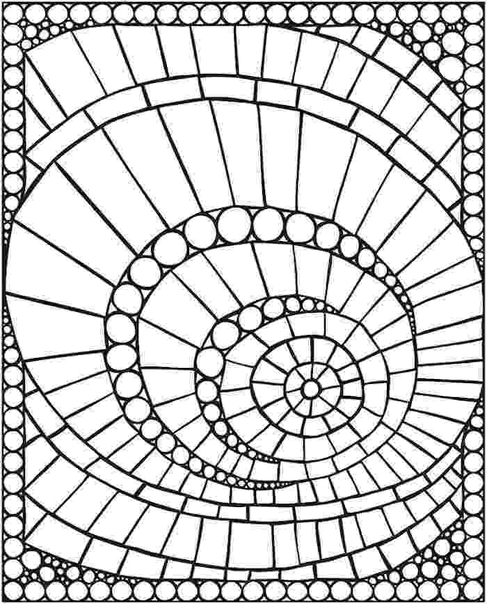 stress less colouring mosaic patterns mosaic coloring pages to download and print for free less mosaic patterns colouring stress