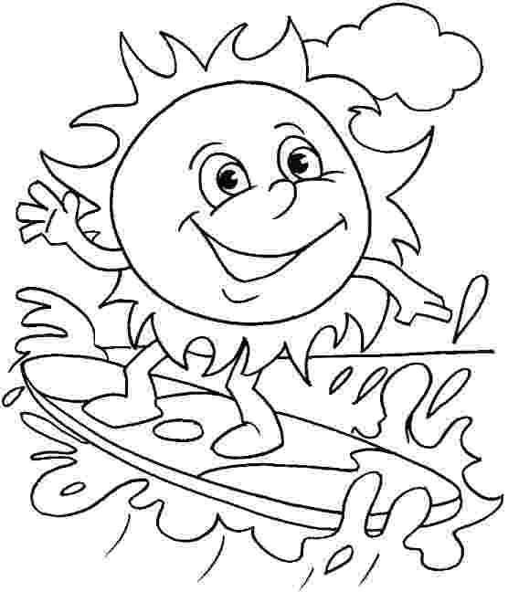 summer coloring pictures summer coloring pages to download and print for free pictures coloring summer