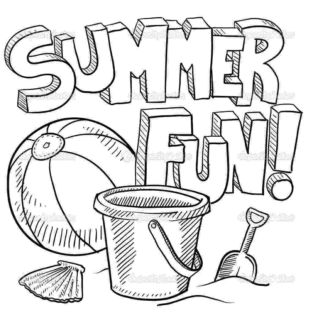 summer coloring sheets summer coloring pages download and print summer coloring coloring summer sheets