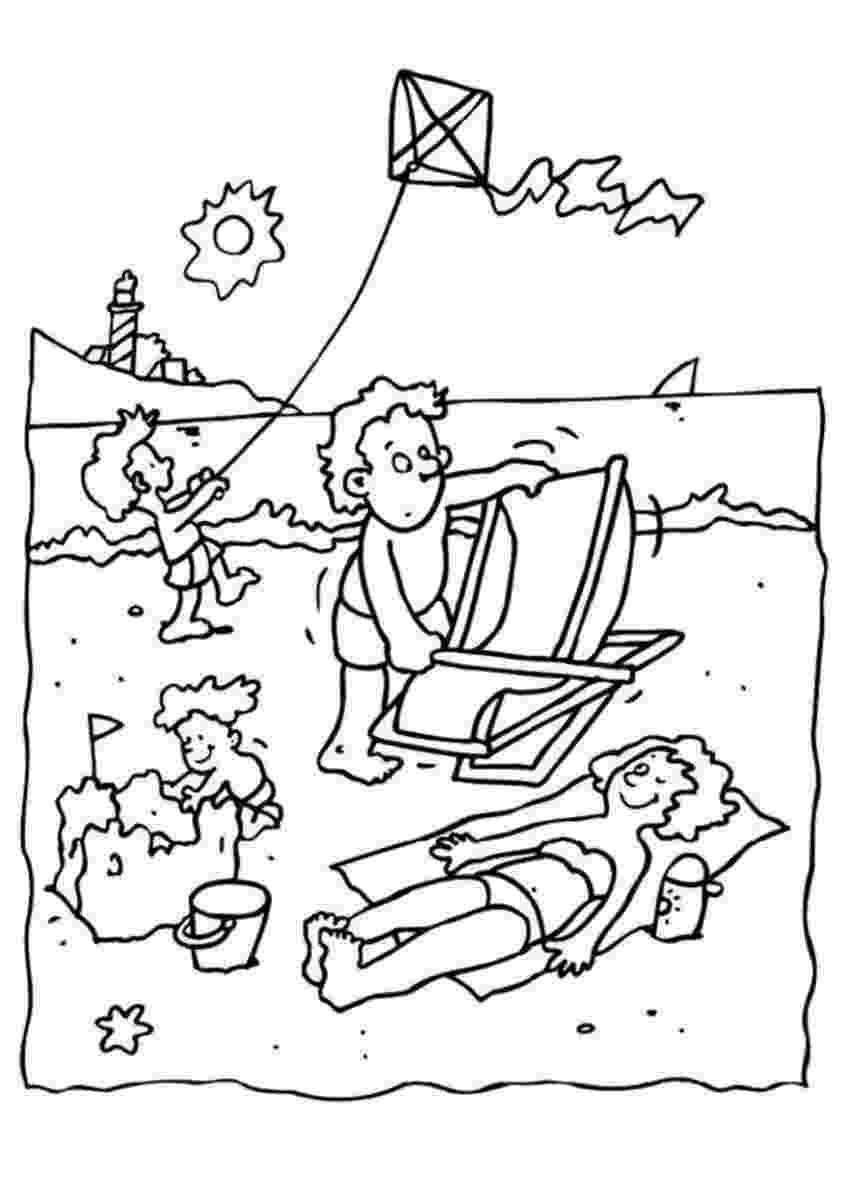 summer coloring sheets summer coloring pages for kids coloring summer sheets