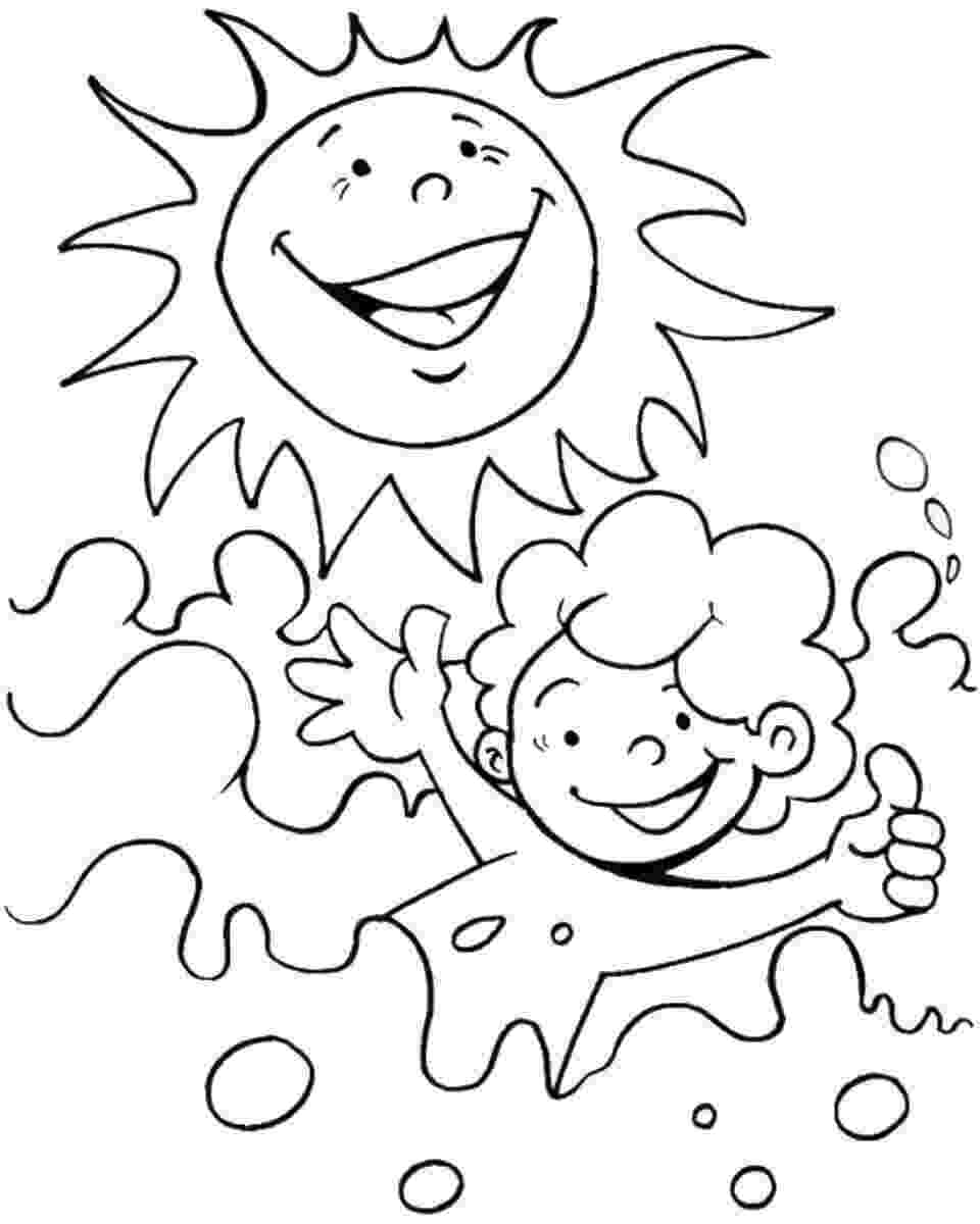 summer coloring sheets summer coloring pages to print summer coloring sheets