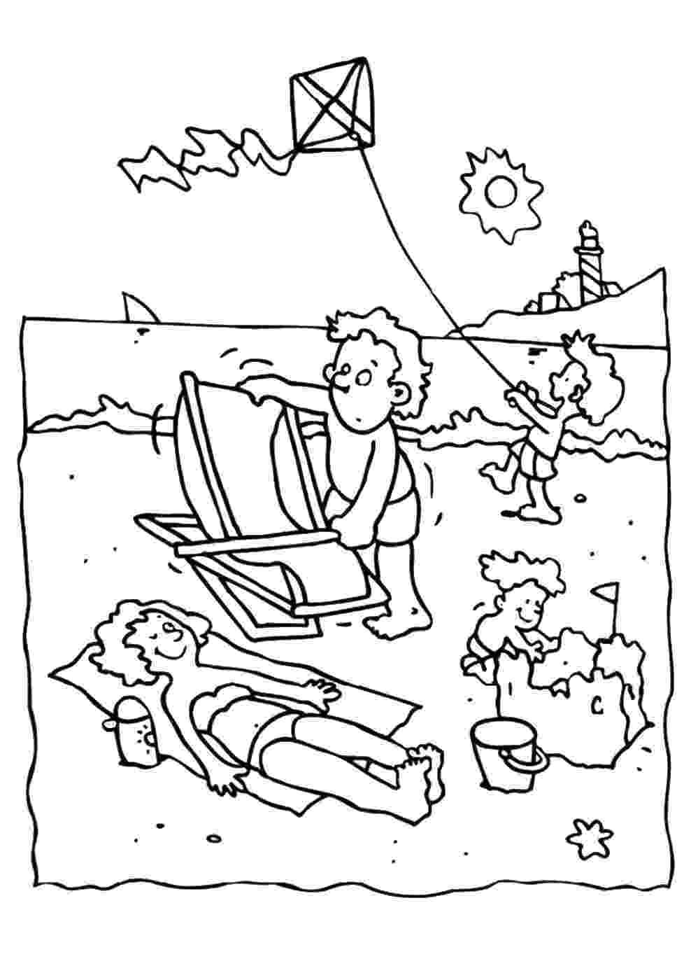summer coloring sheets summer holiday coloring pages summer sheets coloring