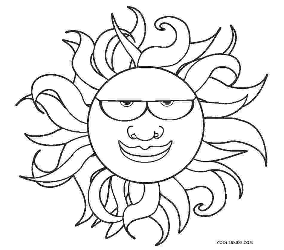 sun coloring pages free coloring pages to print quot sun coloring sun pages
