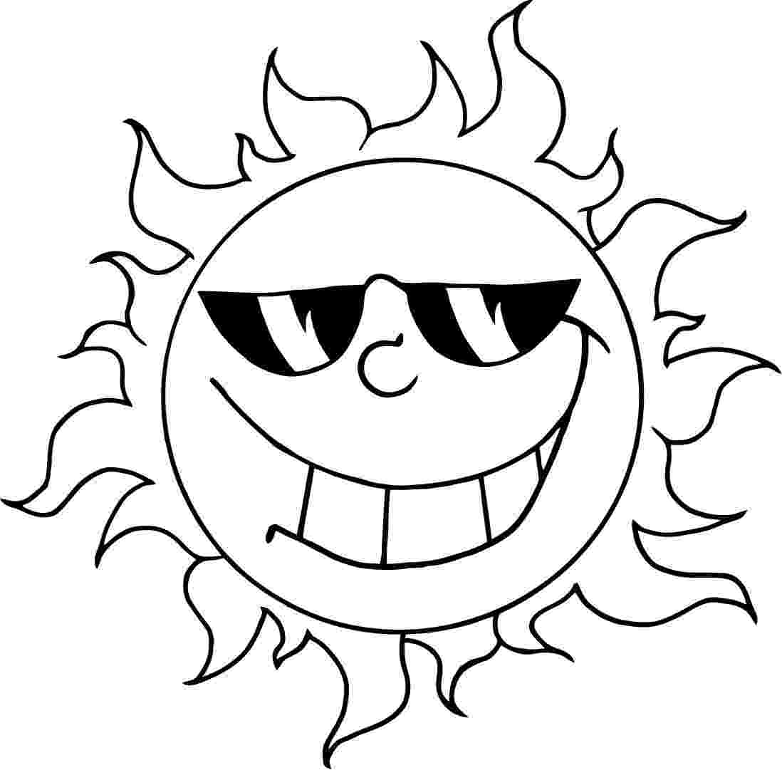 sun coloring pages free printable sun coloring pages for kids coloring sun pages