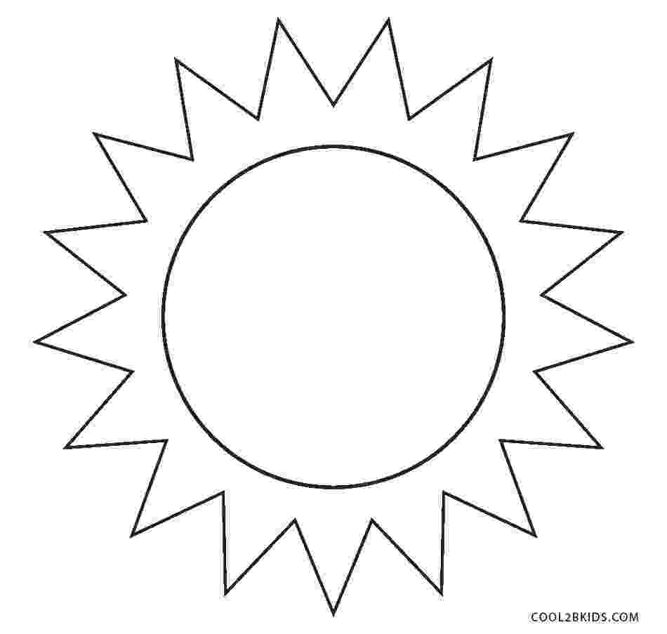 sun coloring pages free printable sun coloring pages for kids pages coloring sun 1 1