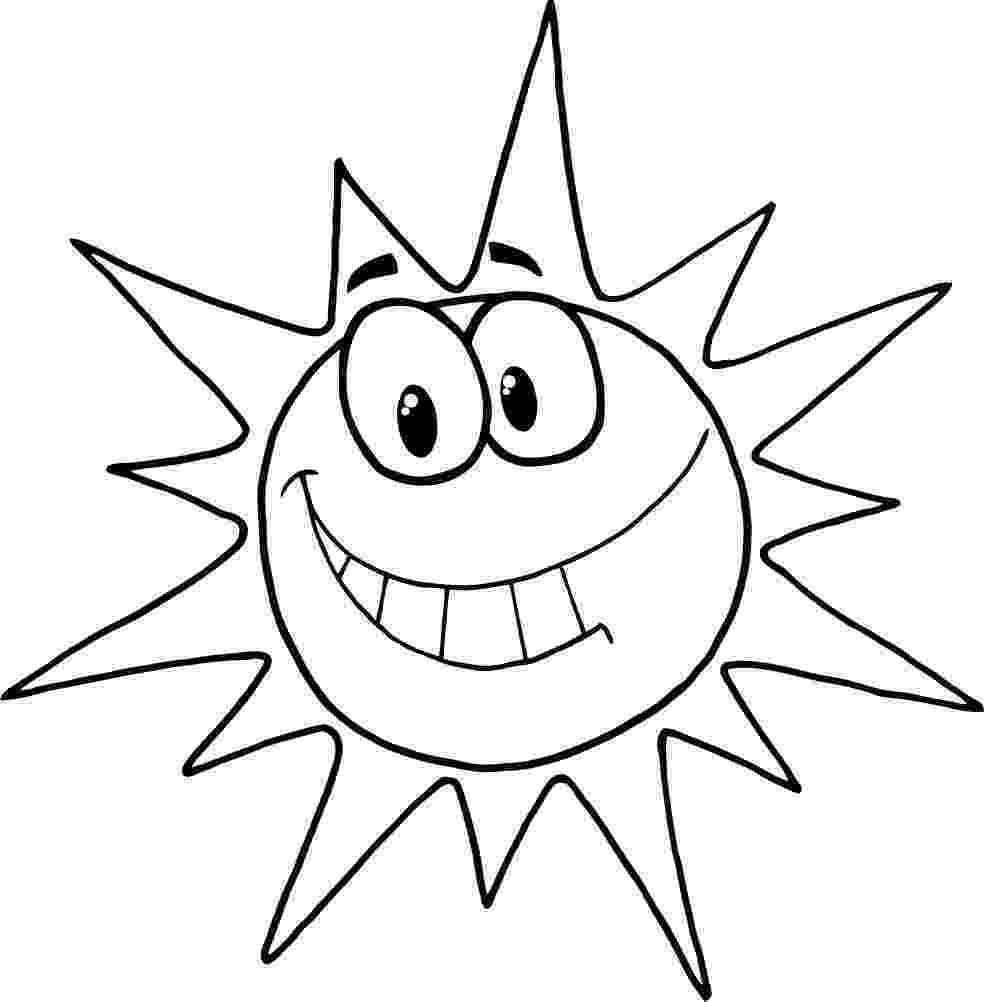 sun coloring pages free printable sun coloring pages for kids sun pages coloring