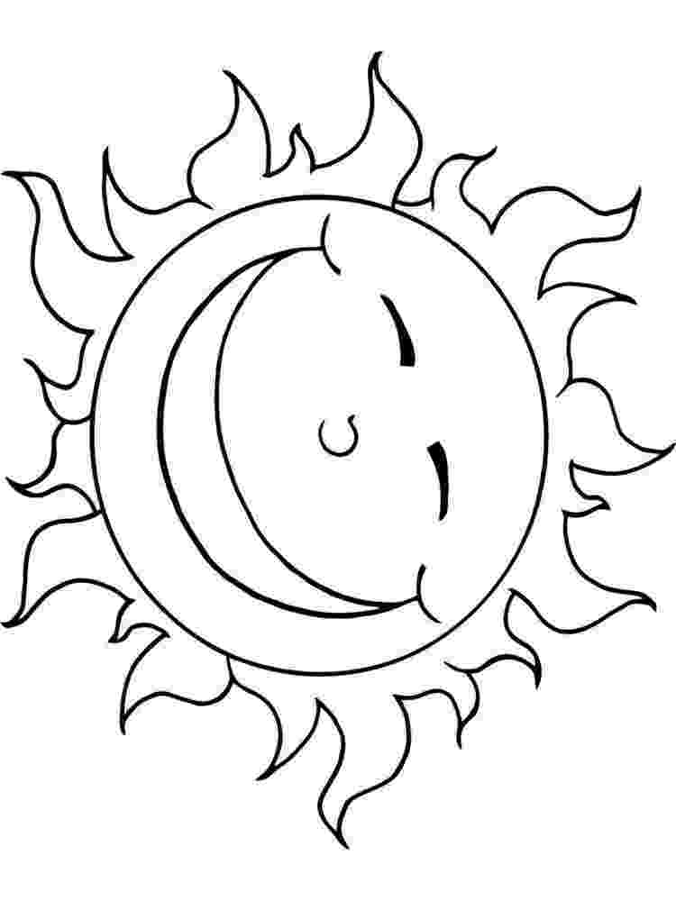 sun coloring pages free printable sun coloring pages for kids sun pages coloring 1 2