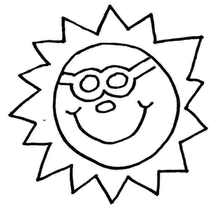 sun coloring pages funny sun coloring pages to printable pages sun coloring