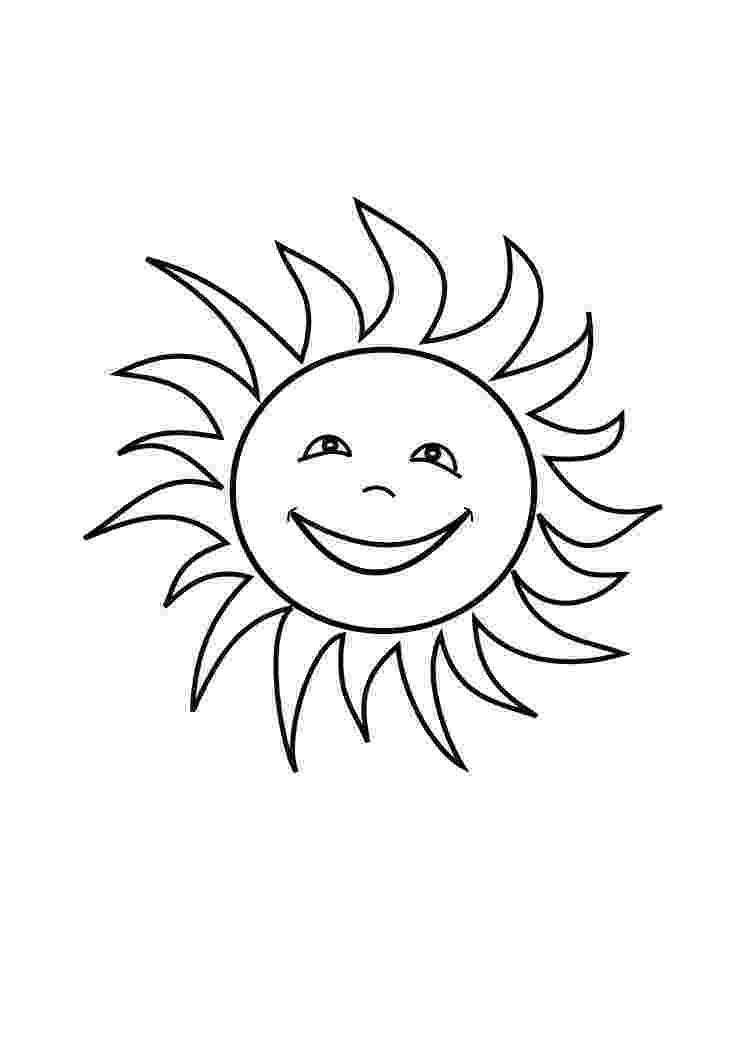 sun coloring pages summer coloring pages to print sun coloring pages