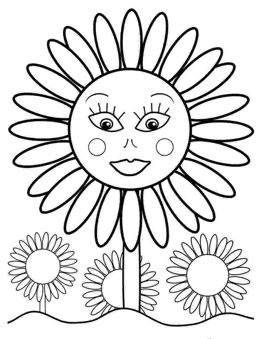 sunflower color sheet sunflower coloring pages sunflower coloring pages sunflower sheet color