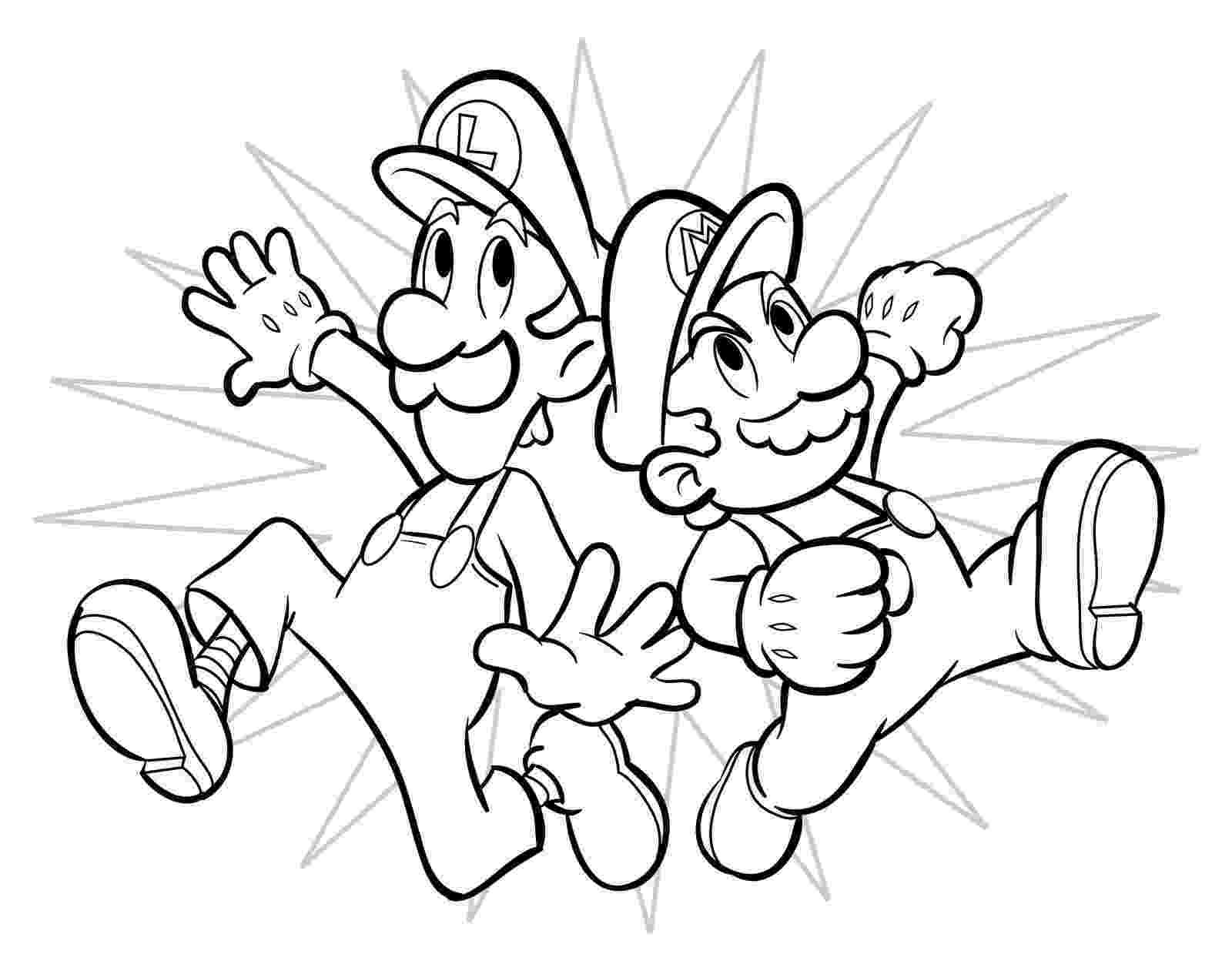 super mario bros pictures to print and colour official mario coloring pages gonintendo colour and pictures bros super to mario print