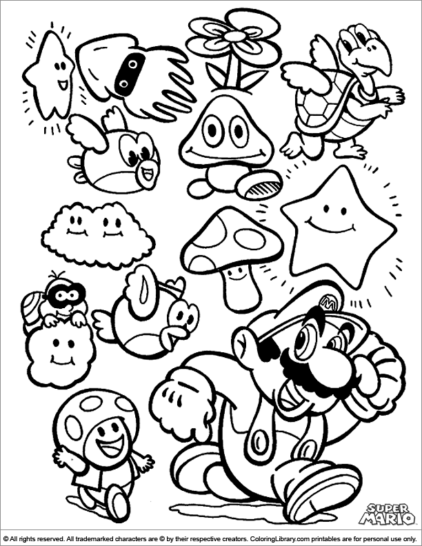 super mario bros pictures to print and colour super mario coloring pages free printable coloring pages pictures colour and bros to print mario super
