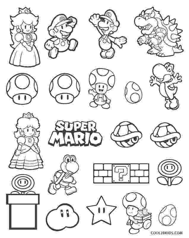 super mario bros printable coloring pages free printable mario brothers coloring pages for kids pages coloring super bros printable mario